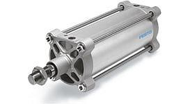 Стандартные пневмоцилиндры DSBG больших диаметров по ISO 15552