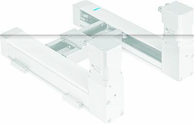 Компактный портал EXCM эффективно использует рабочую зону.