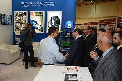 Specta расширяет экспортные рынки на выставке Metal & Steel Middle East в Каире, Египет.