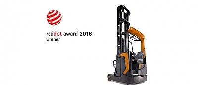 Ричтрак Rocla получил награду Red Dot 2016!
