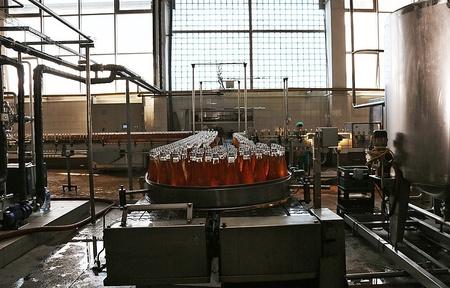 В Симферополе открылся новый цех розлива безалкогольного напитка