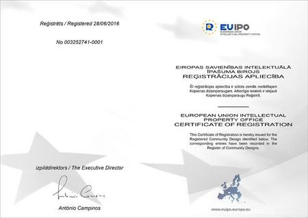Европейский патент на электроэрозионный портативный станок ЭРП 01