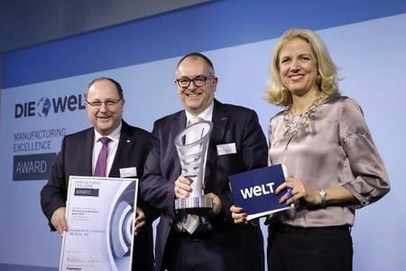 Jungheinrich завоевывал награду за инновации в рамках премии MXAward