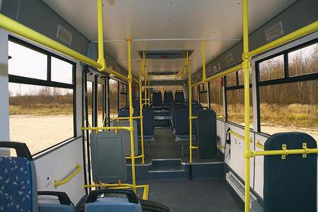 30 полунизкопольных автобусов ЛиАЗ-529360 поставлены в Киргизию