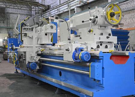 Сдан специальный тяжелый токарный станок РТС117 (РТ117) РМЦ-3000