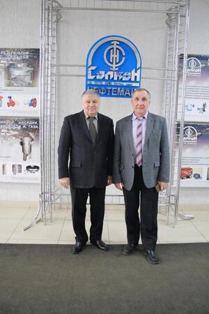 Глава администрации Фрунзенского района посетил наше предприятие