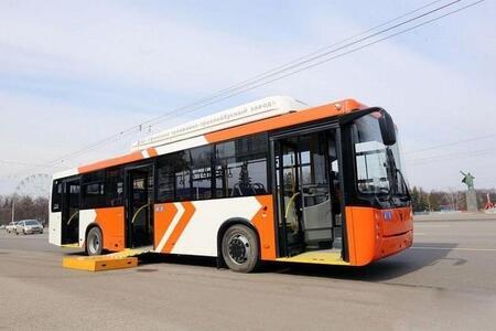 В Уфе прошёл испытание новый низкопольный троллейбус местного производства