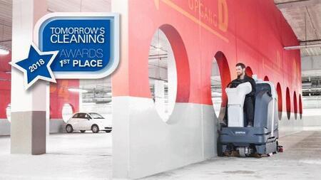 Уникальная высокоскоростная машина от Nilfisk отмечена специальной наградой клининговой отрасли