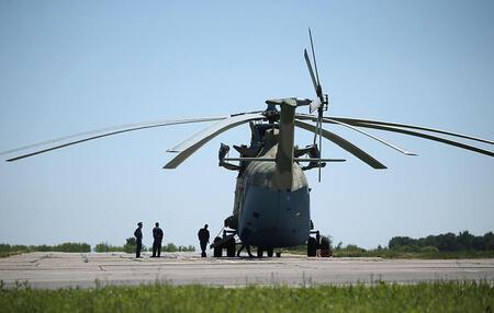 Модернизированный Ми-26Т2 В совершил первый полет