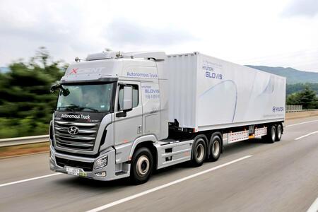 Hyundai Motor Company представила в Сеуле беспилотный грузовик