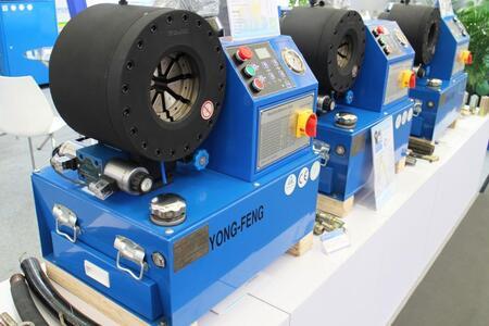 Оборудование ведущего завода по производству станков для РВД YONG FENG