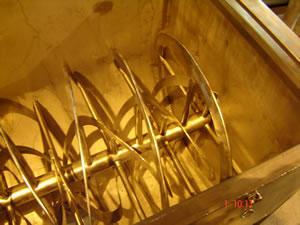 Устройство и принцип работы шнековых смесителей