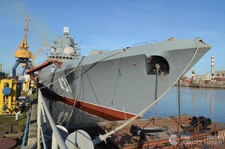 Репортаж с борта новейшего фрегата проекта 22350 «Адмирал Касатонов»