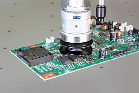 Безопасная вакуумная обработка для чувствительных электронных компонентов