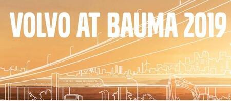 Volvo в рамках выставки Bauma 2019