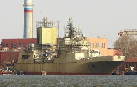 Строительство кораблей на ПСЗ «Янтарь»