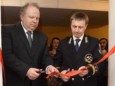Открытие учебной лаборатории «ВИБРОТЕХНИК» в УГГУ