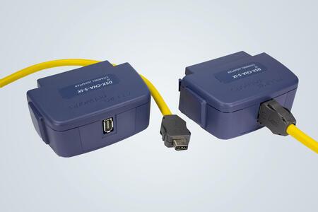 Контрольный переходник с соединителем ix Industrial® Ethernet для FLUKE DSX CableAnalyzer™