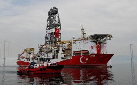 Турция отвергает утверждения Греции и ЕС о незаконности добычи газа на Кипре.