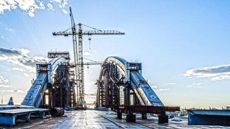 В Татарстане началось строительство нового моста через реку Свияга