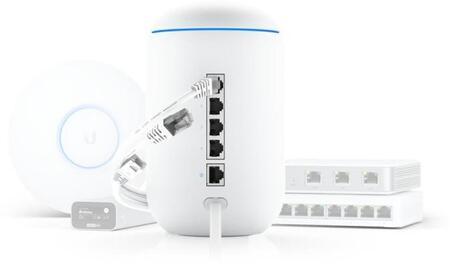 Ubiquiti сочетает в себе маршрутизатор и точку доступа Wi-Fi с UniFi Dream Machine