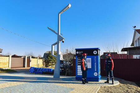 В Белгороде установили первый в ЦФО накопитель электроэнергии