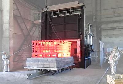 Свыше 110 газовых печей с массой садки от 20 тонн