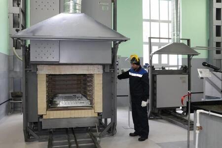 На судостроительном заводе «Море» открыт реконструированный цех термической обработки деталей