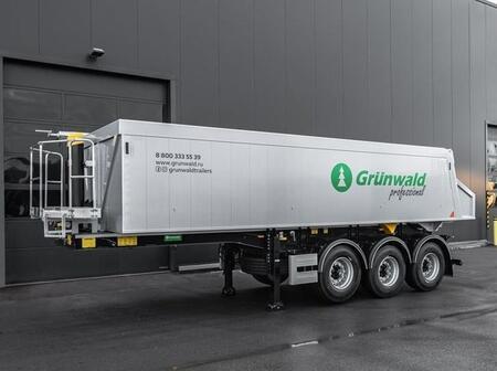 Калининградский завод «Грюнвальд» выпустил новые модели полуприцепов