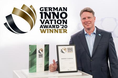 Соединитель HARTING T1 Industrial был удостоен награды German Innovation Award 2020