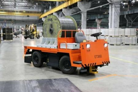 Северсталь-метиз внедрил автоматически управляемый транспорт