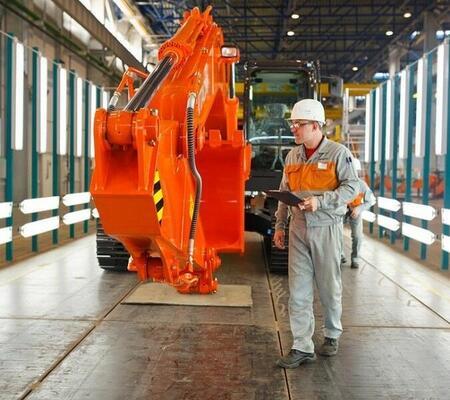 Hitachi запустила в России производство ковшей для строительных экскаваторов