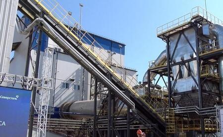 «Северсталь» запустила на Яковлевском ГОКе новый комплекс сушки руды