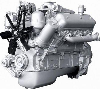 Дизельный двигатель ЯМЗ 236