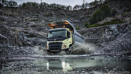 Новый грузовик Volvo FMX: повышенная грузоподъёмность и инновации