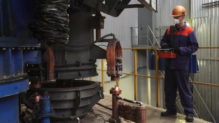 В Нижегородской области на заводе «Русполимет» запущена новая печь вакуумно-дугового переплава