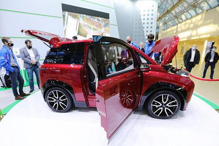 ПАО «КАМАЗ» представило электромобиль «КАМА-1»