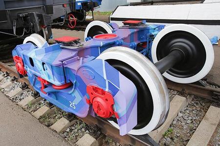 УВЗ начинает изготовление железнодорожной тележки нового поколения