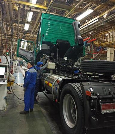 «КАМАЗ» увеличивает производственные мощности выпуска газомоторной техники