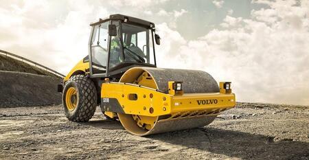 10-тонные асфальтовые катки Volvo выходят на развивающиеся рынки