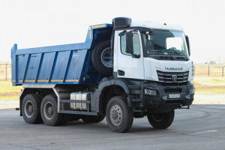 «КАМАЗ» представил новые модели автомобилей поколения К5