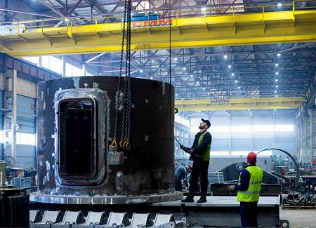Производственный комплекс «СММ-Тяжмаш» вышел на проектную мощность