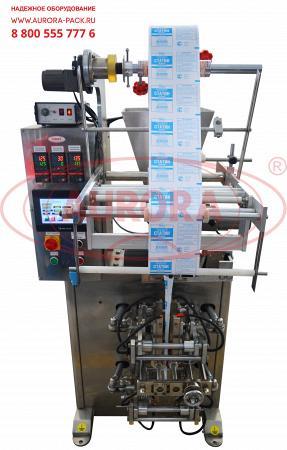 Вертикальная упаковочная машина для саше-пакетов на порошкообразное ранозаживляющее средство