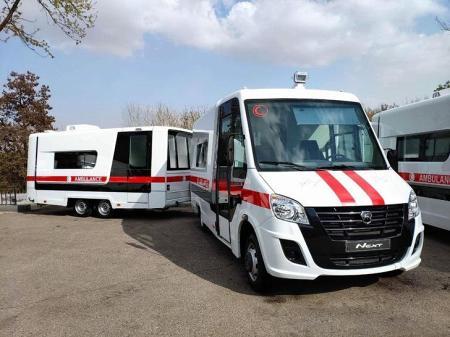 ГАЗ поставил Узбекистану 20 машин скорой помощи