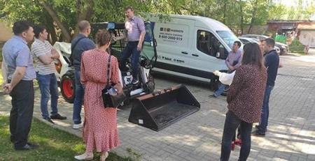 Обучение для сотрудников «НАК Машинери» и дилеров Bobcat в Екатеринбурге