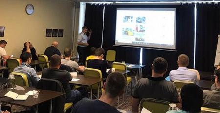 Обучение для менеджеров НАК Машинери и дилеров Bobcat в Москве