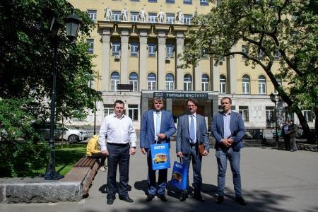 Визит делегации «БЕЛАЗ» в «МИСиС»