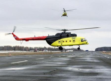 Ростех поставит 50 вертолетов Ми-8АМТ авиакомпании «ЮТэйр»