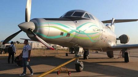 Состоялся первый полет Як-40ЛЛ со сверхпроводниковым электродвигателем