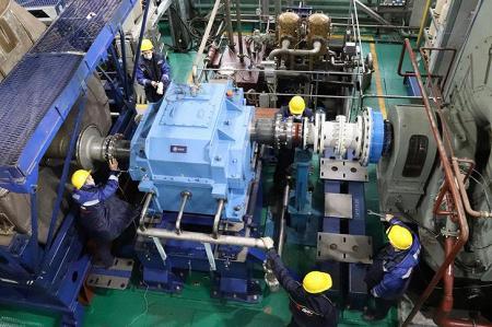 В ОДК осваивают испытания отремонтированных морских двигателей
